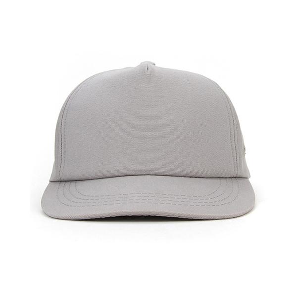 Blank 5 Panel Leather Strap Snapback Hat  235ddd6500d