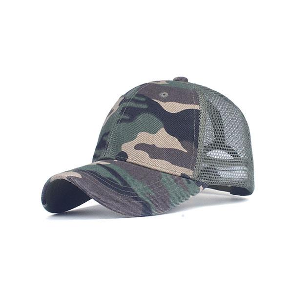 454e3b188 Camo Trucker Cap Blank Mesh Hat | Hatdream